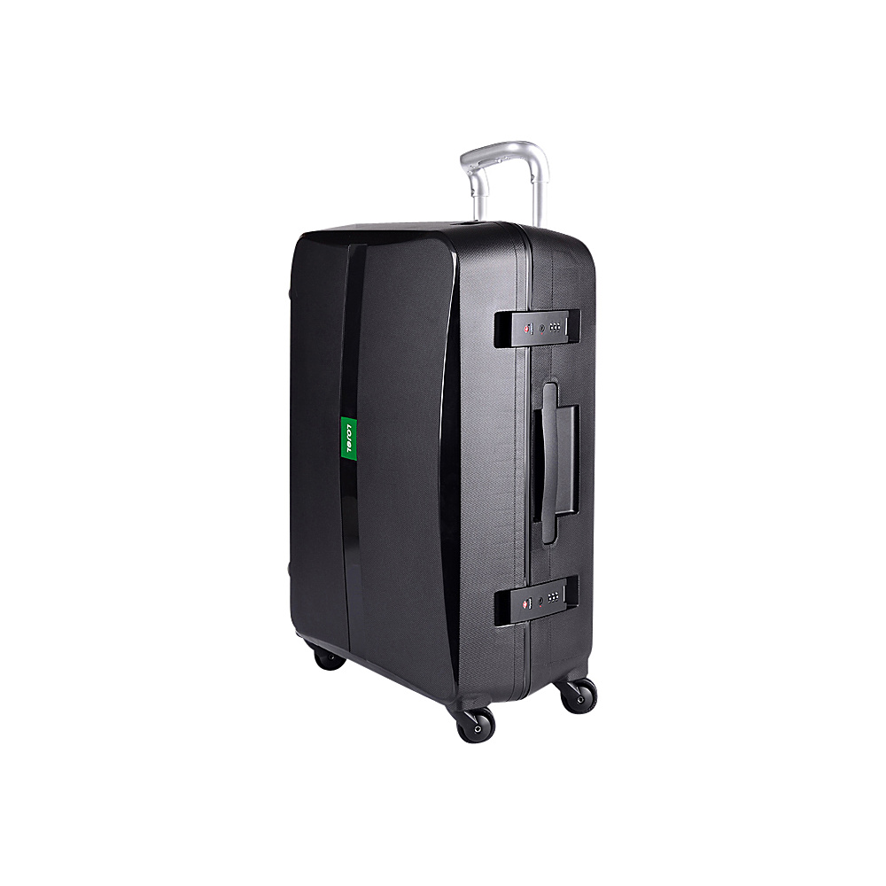 Lojel Octa Medium Luggage Black Lojel Hardside Checked