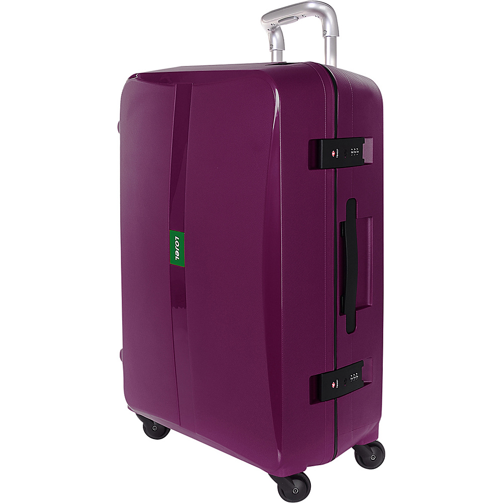 Lojel Octa Medium Luggage Purple Lojel Hardside Checked