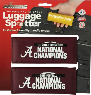 Luggage Spotters NCAA Alabama Crimson Tide Luggage Spotter Red - Luggage Spotters Luggage Accessories