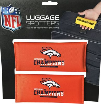 Luggage Spotters NFL Denver Broncos Luggage Spotter Orange - Luggage Spotters Luggage Accessories