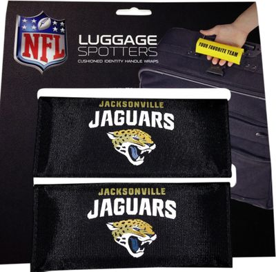 Luggage Spotters NFL Jacksonville Jaguars Luggage Spotter Black - Luggage Spotters Luggage Accessories