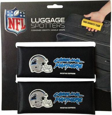Luggage Spotters NFL Carolina Panthers Luggage Spotter Blue - Luggage Spotters Luggage Accessories
