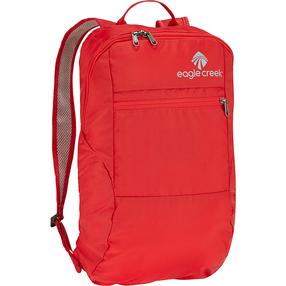 Eagle Creek Packable Daypack Red Fire - Eagle Creek Lightweight packable expandable bags