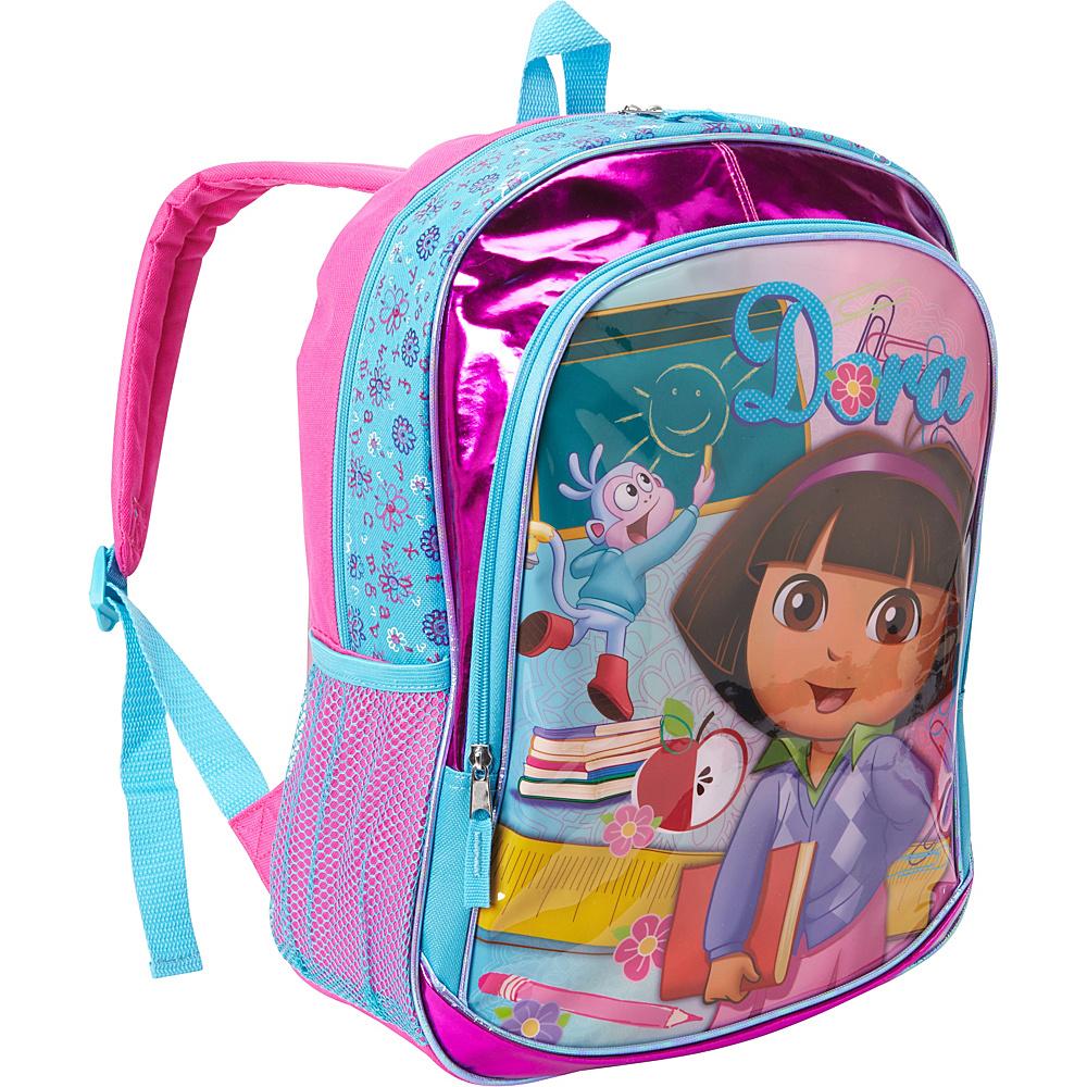 """Accessory Innovations Dora The Explorer 16"""" Backpack Pink - Accessory Innovations Everyday Backpacks"""
