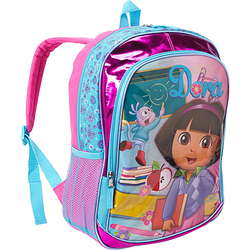 "Accessory Innovations Dora The Explorer 16"" Backpack Pink - Accessory Innovations Kids' Backpacks"