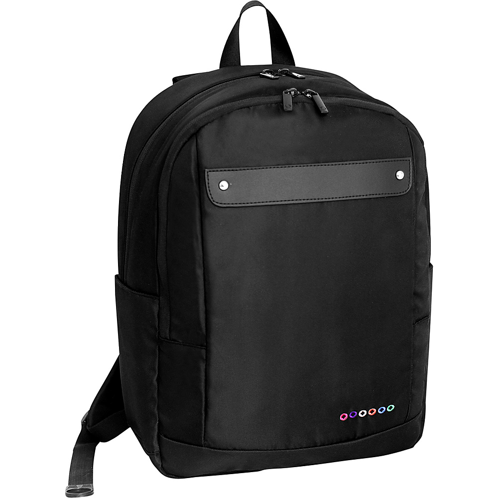 J World New York Beetle Laptop Backpack Black J World New York Business Laptop Backpacks