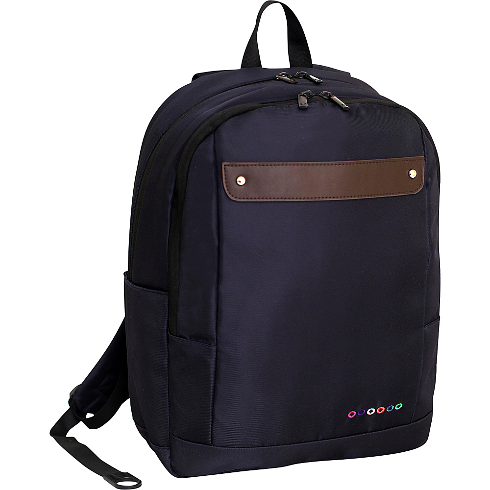 J World New York Beetle Laptop Backpack Navy J World New York Business Laptop Backpacks