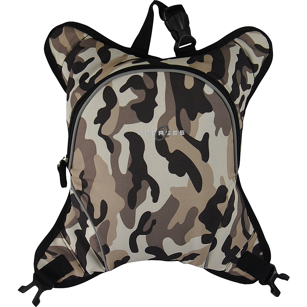 Obersee Baby Bottle Cooler Attachment Camo Obersee Diaper Bags Accessories