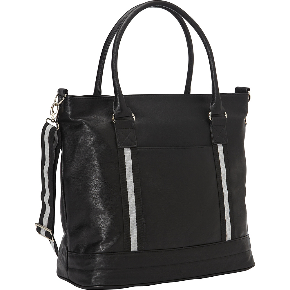 Bellino Cooper Tote Black - Bellino Leather Handbags