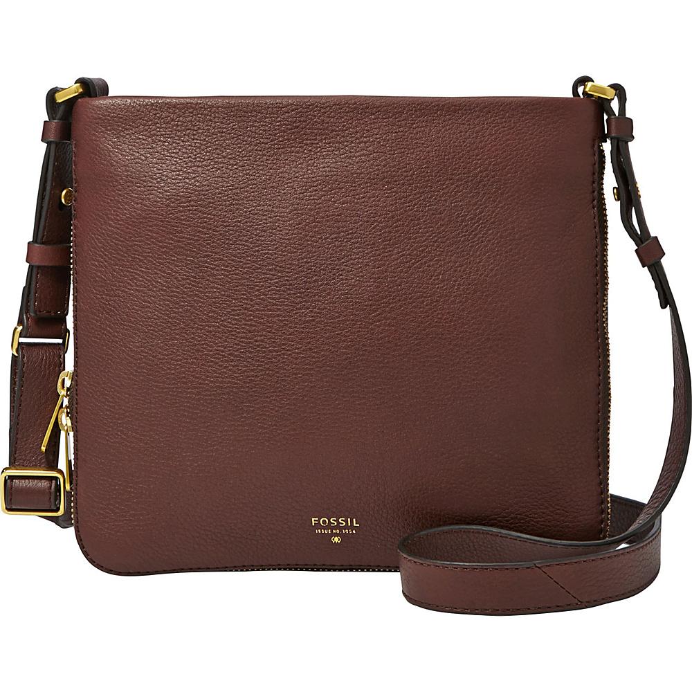 Fossil Preston Crossbody Espresso - Fossil Leather Handbags - Handbags, Leather Handbags