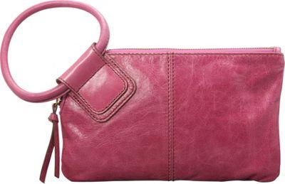 Hobo Sable Wristlet Begonia - Hobo Leather Handbags