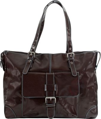 Urban Junket JB Laptop Bag Chocolate Brown - Urban Junket Ladies' Business