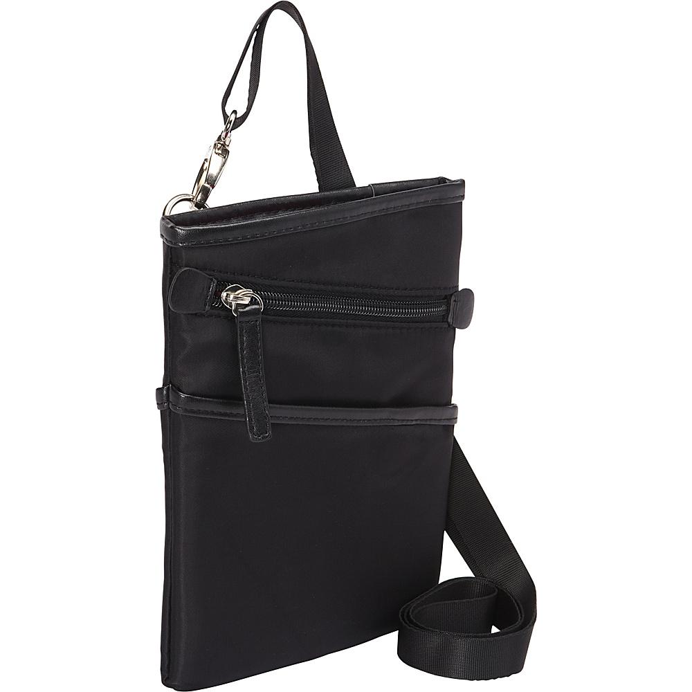 Women In Business Dallas City Slim Shoulder Bag 7 Black Women In Business Fabric Handbags