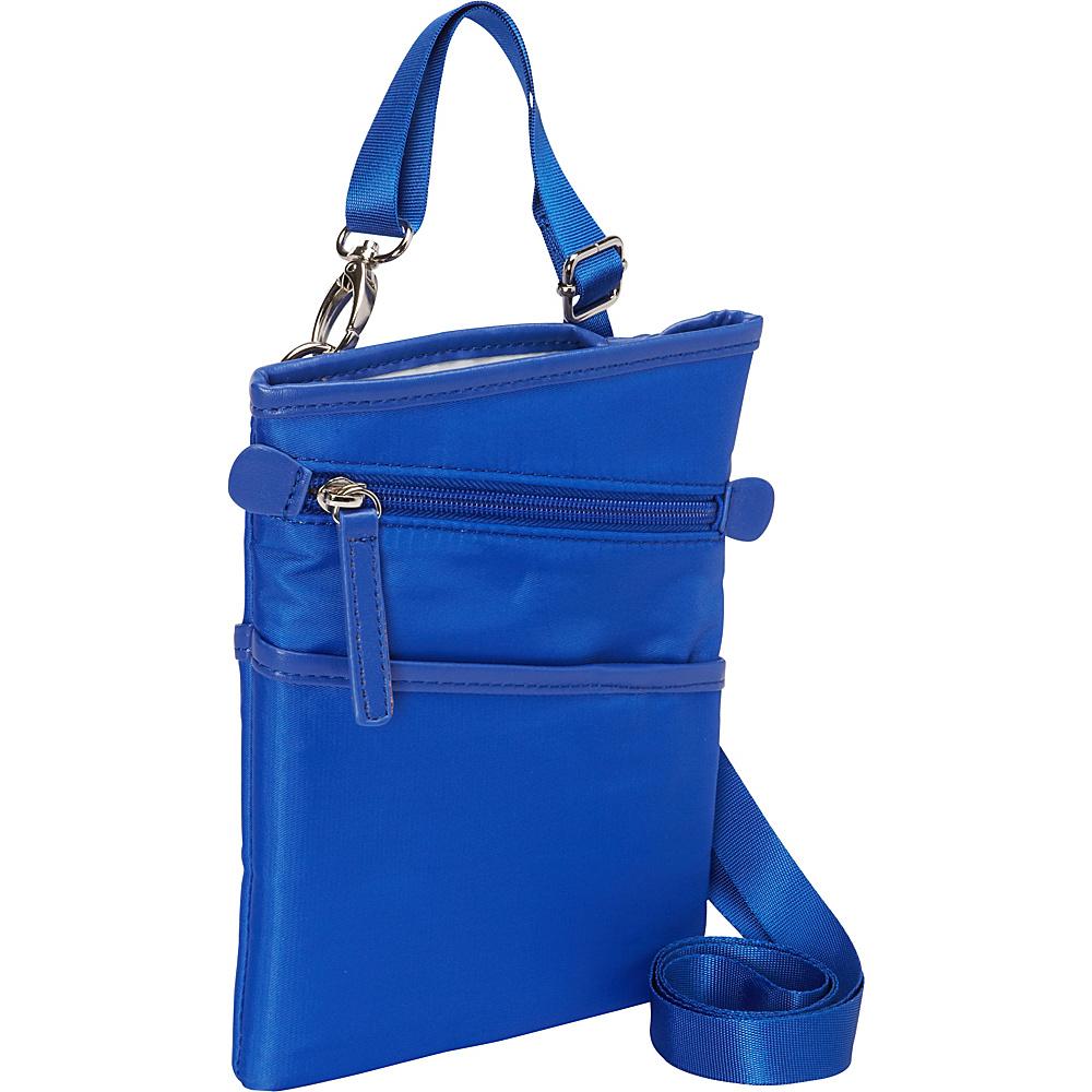 Women In Business Dallas City Slim Shoulder Bag 7 Blue Women In Business Fabric Handbags