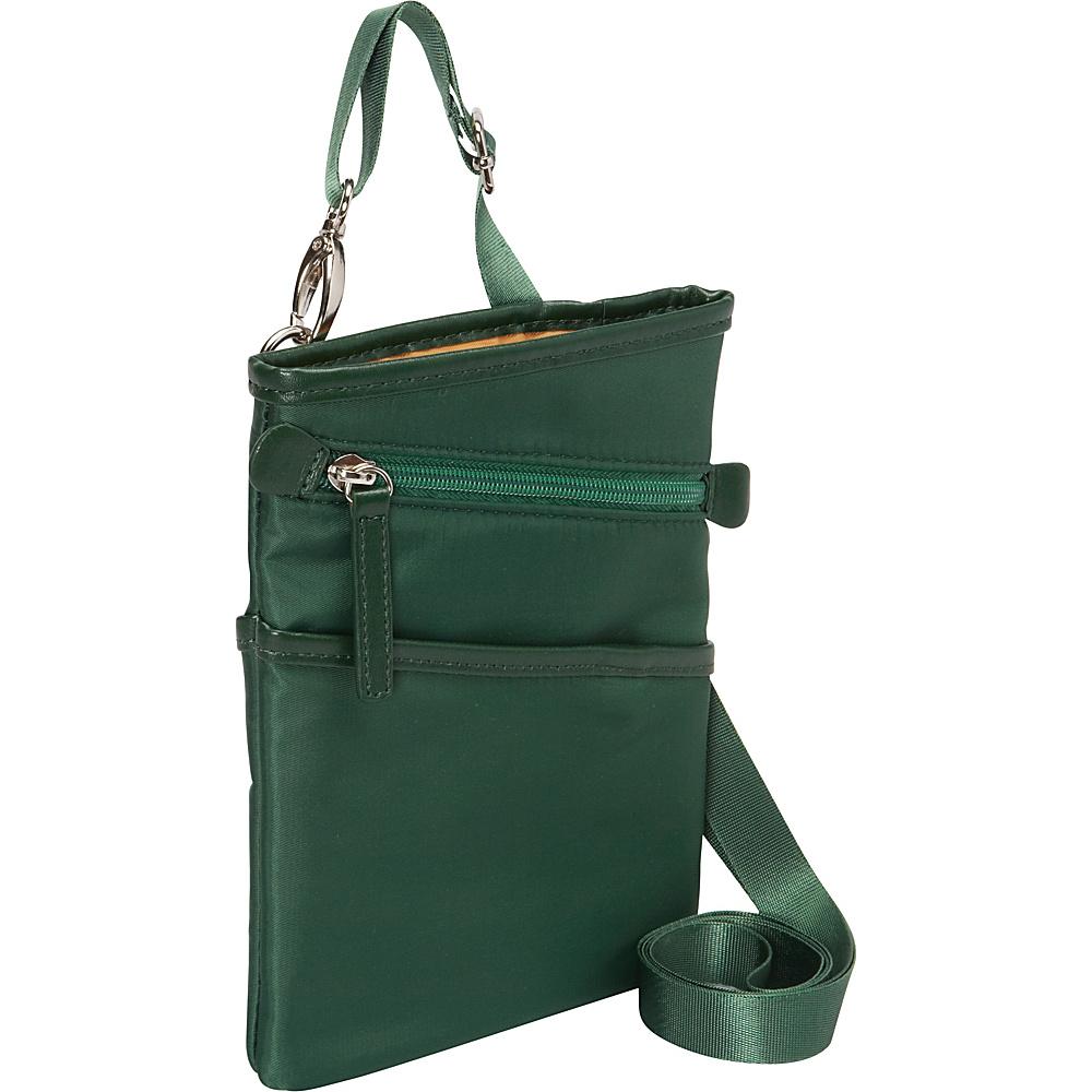 Women In Business Dallas City Slim Shoulder Bag 7 Green Women In Business Fabric Handbags