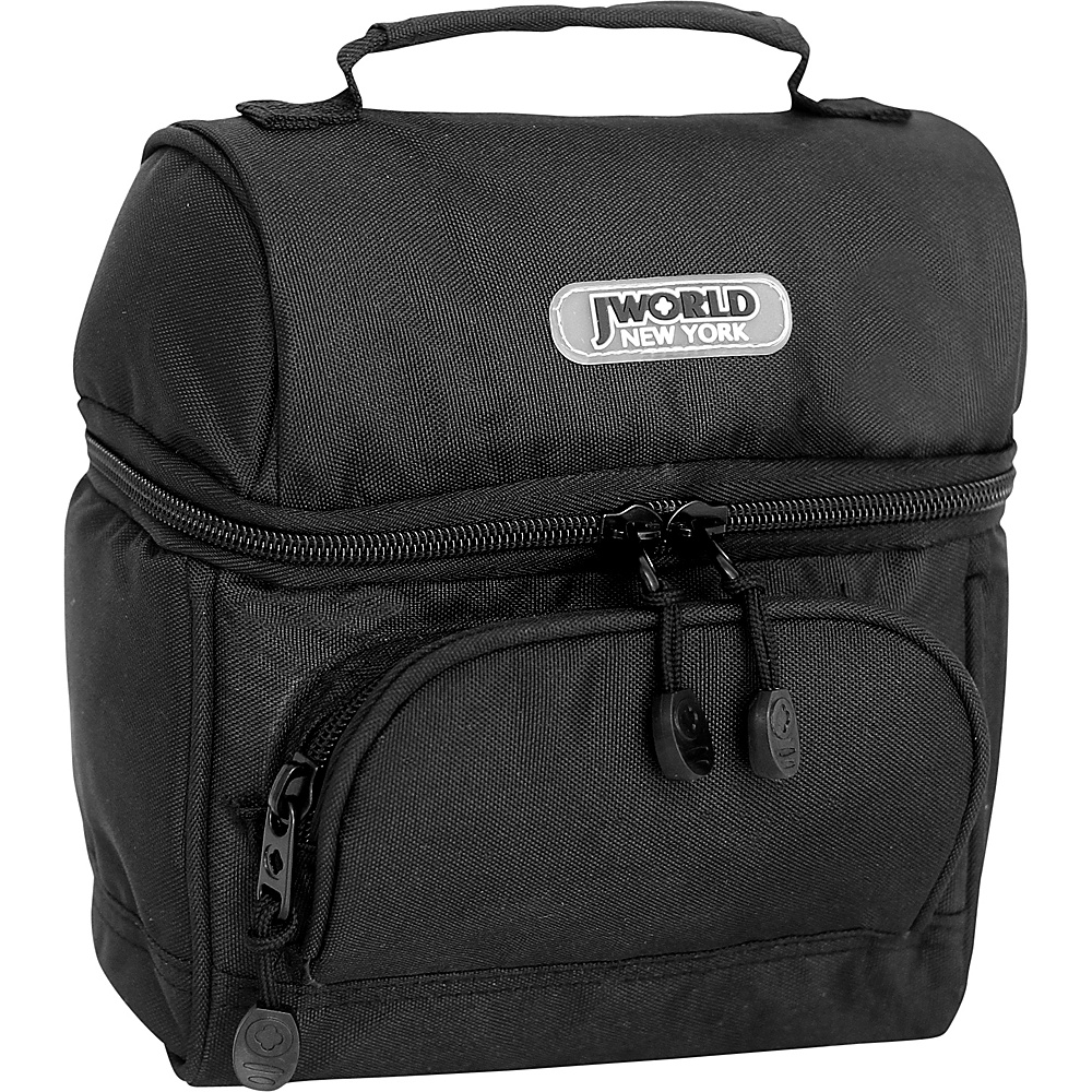 J World New York Corey Lunch Bag Black - J World New York Travel Coolers - Travel Accessories, Travel Coolers