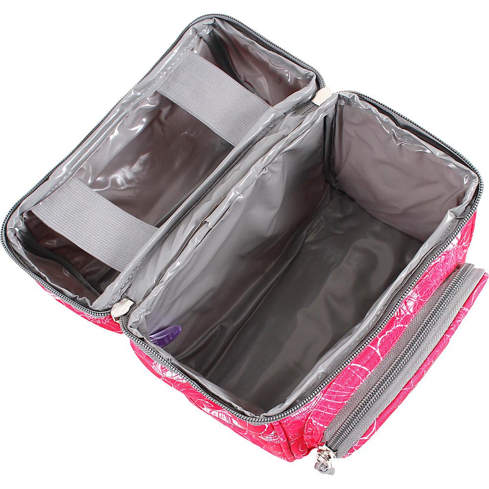 J World New York Corey Lunch Bag Garden Purple - J World New York Travel Coolers