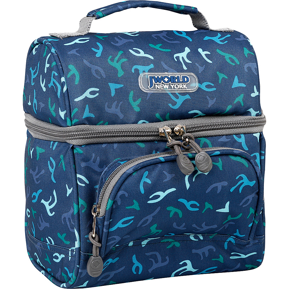 J World New York Corey Lunch Bag Reef - J World New York Travel Coolers - Travel Accessories, Travel Coolers
