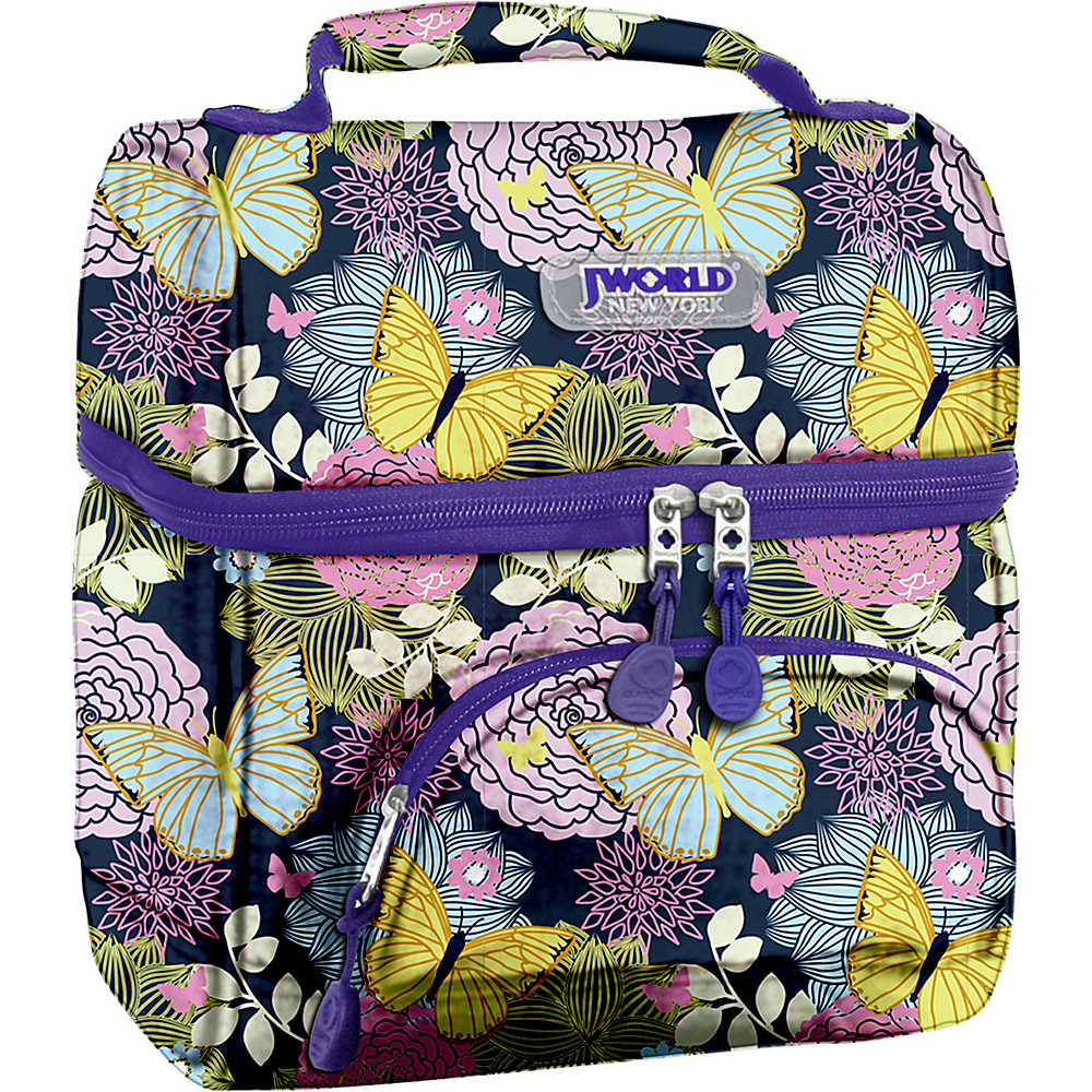 J World New York Corey Lunch Bag Secret Garden - J World New York Travel Coolers - Travel Accessories, Travel Coolers