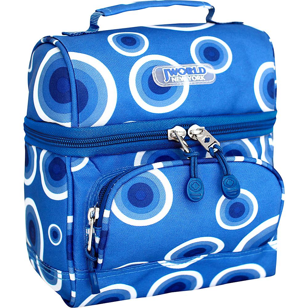 J World New York Corey Lunch Bag Blue Target - J World New York Travel Coolers - Travel Accessories, Travel Coolers