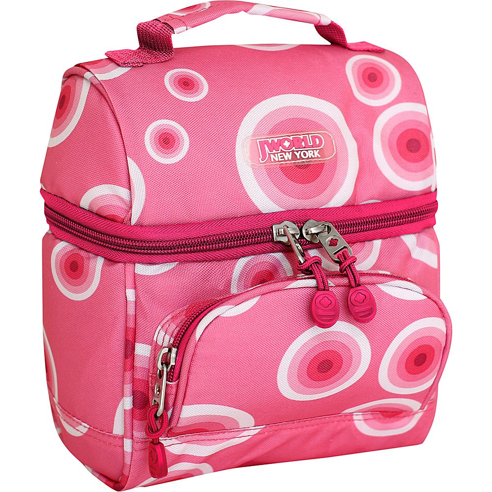 J World New York Corey Lunch Bag Pink Target - J World New York Travel Coolers - Travel Accessories, Travel Coolers