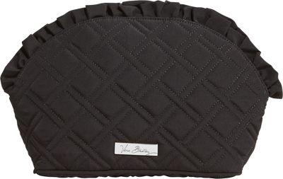 Vera Bradley Ruffle Cosmetic - Solids Black - Vera Bradley Ladies Cosmetic Bags