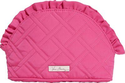 Vera Bradley Ruffle Cosmetic - Solids Deep Pink - Vera Bradley Ladies Cosmetic Bags