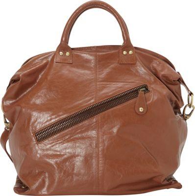 Latico Leathers Sam Tote Cognac - Latico Leathers Leather Handbags