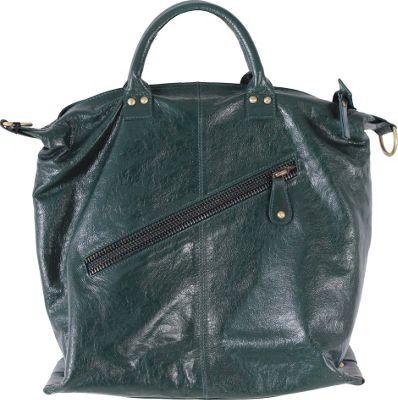 Latico Leathers Sam Tote Forest - Latico Leathers Leather Handbags