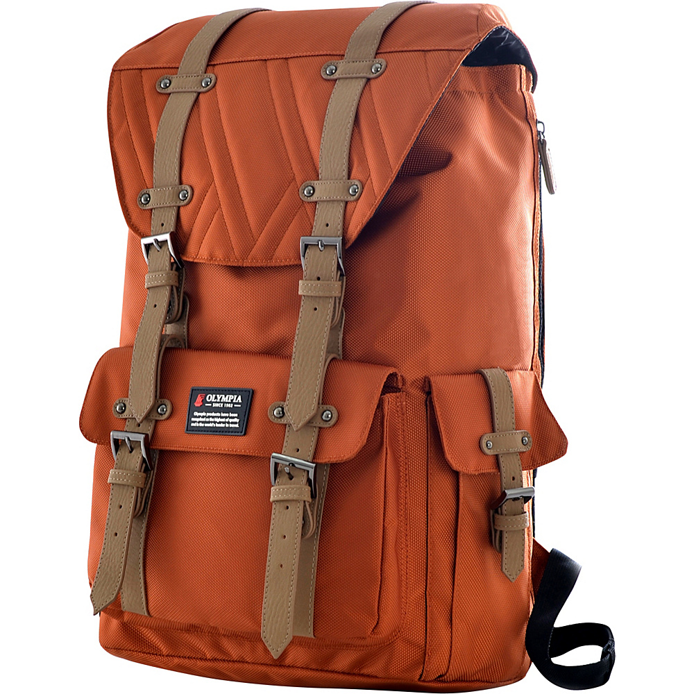 Olympia Hopkins 18 Backpack Sienna Olympia Business Laptop Backpacks