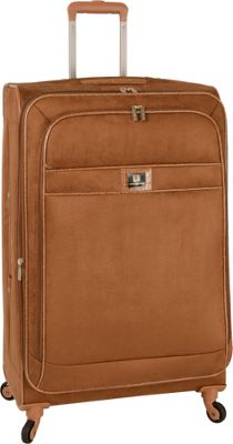 "Image of Anne Klein Luggage Houston 28"" Expandable Spinner Tan - Anne Klein Luggage Large Rolling Luggage"
