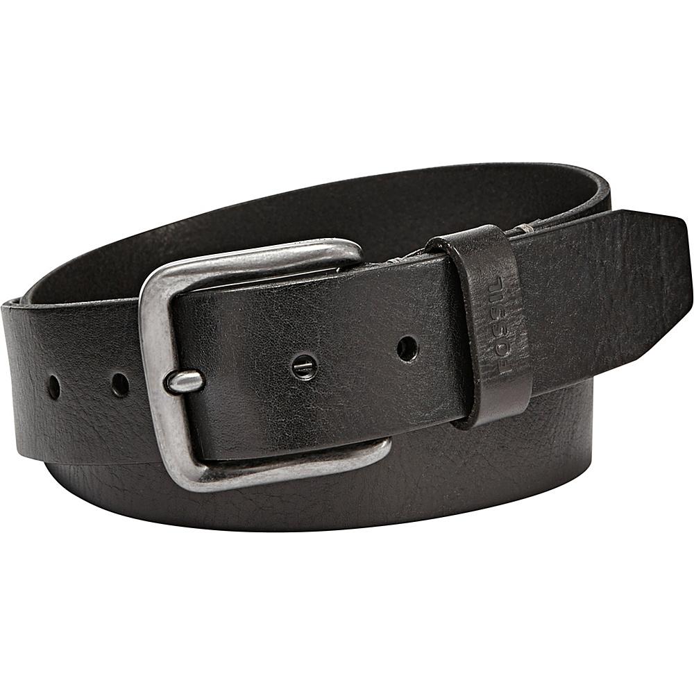 Fossil Brody Belt 42 - Black - Fossil Belts - Fashion Accessories, Belts