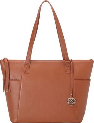 Piazza Florence Shopper Terra Cotta - Piazza Leather Handbags