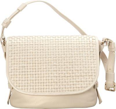 Cole Haan Brennan Shoulder Bag Ivory - Cole Haan Designer Handbags