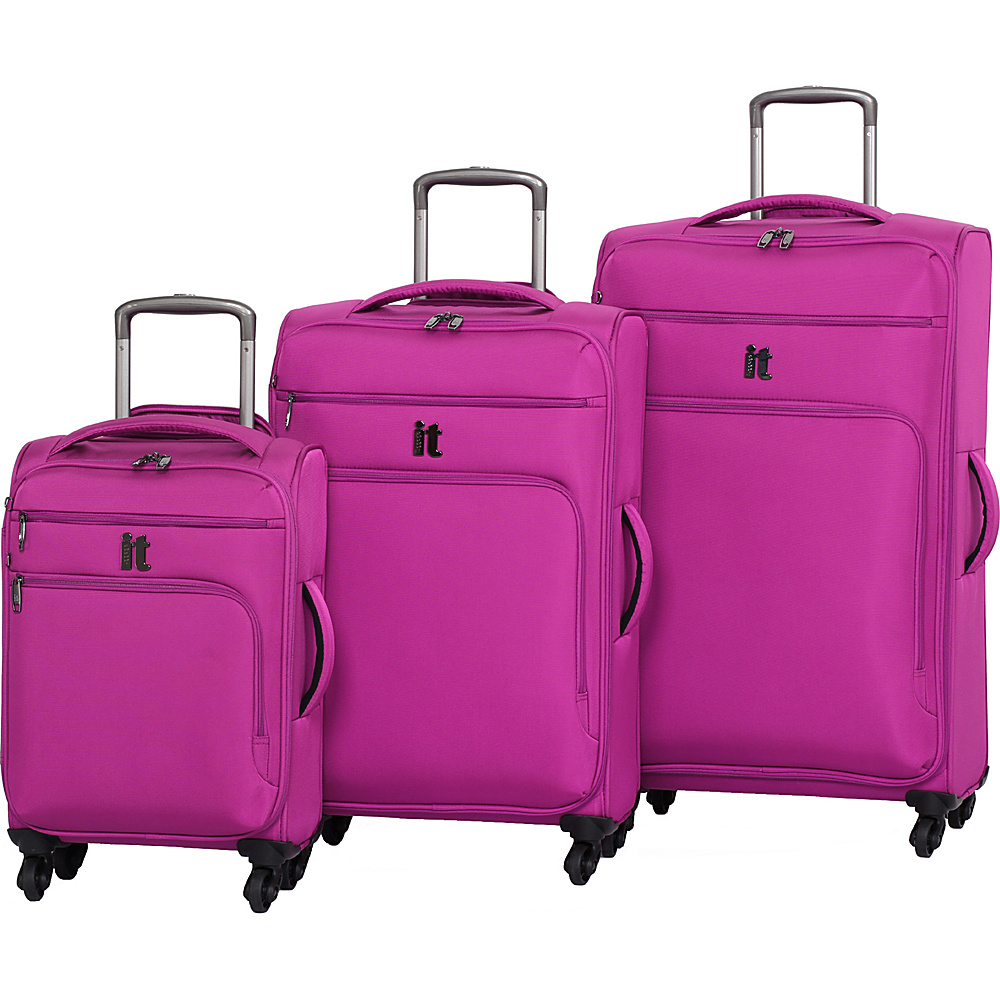 it luggage MegaLite Luggage Collection 3 Piece Spinner Luggage Set eBags Exclusive Baton Rouge it luggage Luggage Sets