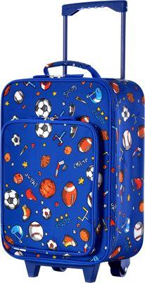 Olympia USA Kids 19 inch Luggage BALL - Olympia USA Softside Carry-On