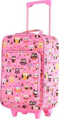 Olympia USA Kids 19 inch Luggage Pink - Olympia USA Softside Carry-On