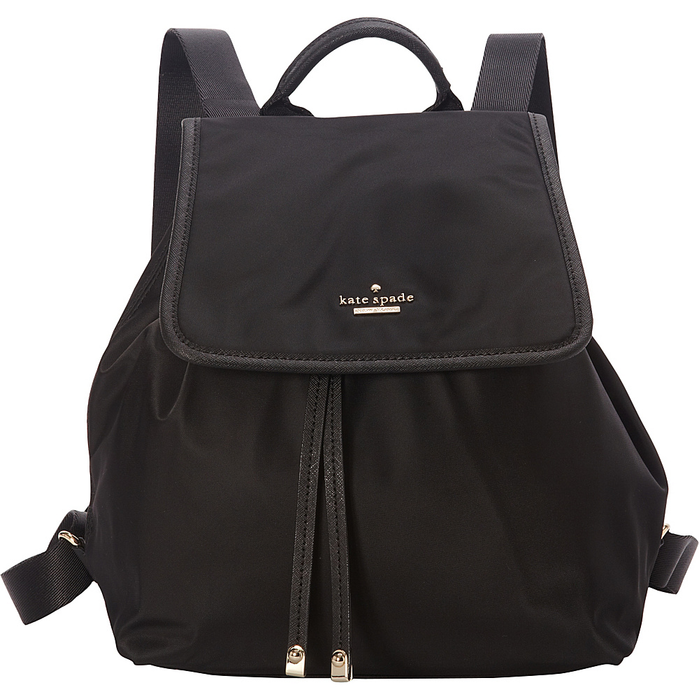 kate spade new york Classic Nylon Molly Backpack Handbag Black - kate spade new york Designer Handbags
