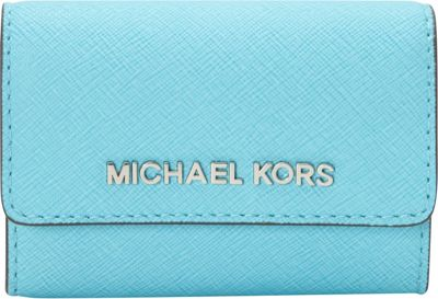MICHAEL Michael Kors Jet Set Travel Coin Purse Aquamarine - MICHAEL Michael Kors Designer Ladies Wallets