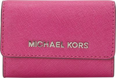 MICHAEL Michael Kors Jet Set Travel Coin Purse Fuschia - MICHAEL Michael Kors Designer Ladies Wallets
