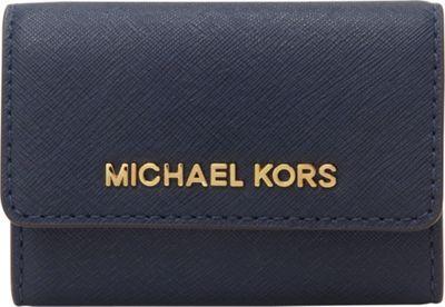MICHAEL Michael Kors Jet Set Travel Coin Purse Navy - MICHAEL Michael Kors Designer Ladies Wallets