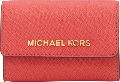 MICHAEL Michael Kors Jet Set Travel Coin Purse Watermelon - MICHAEL Michael Kors Designer Ladies Wallets
