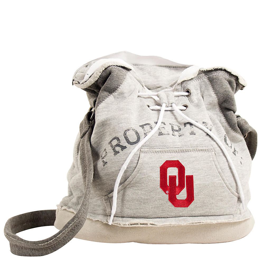 Littlearth Hoodie Shoulder Bag Big 12 Teams Oklahoma U of Littlearth Fabric Handbags