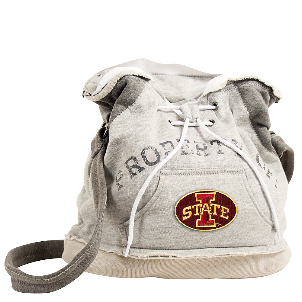 Littlearth Hoodie Shoulder Bag Big 12 Teams Iowa State University Littlearth Fabric Handbags