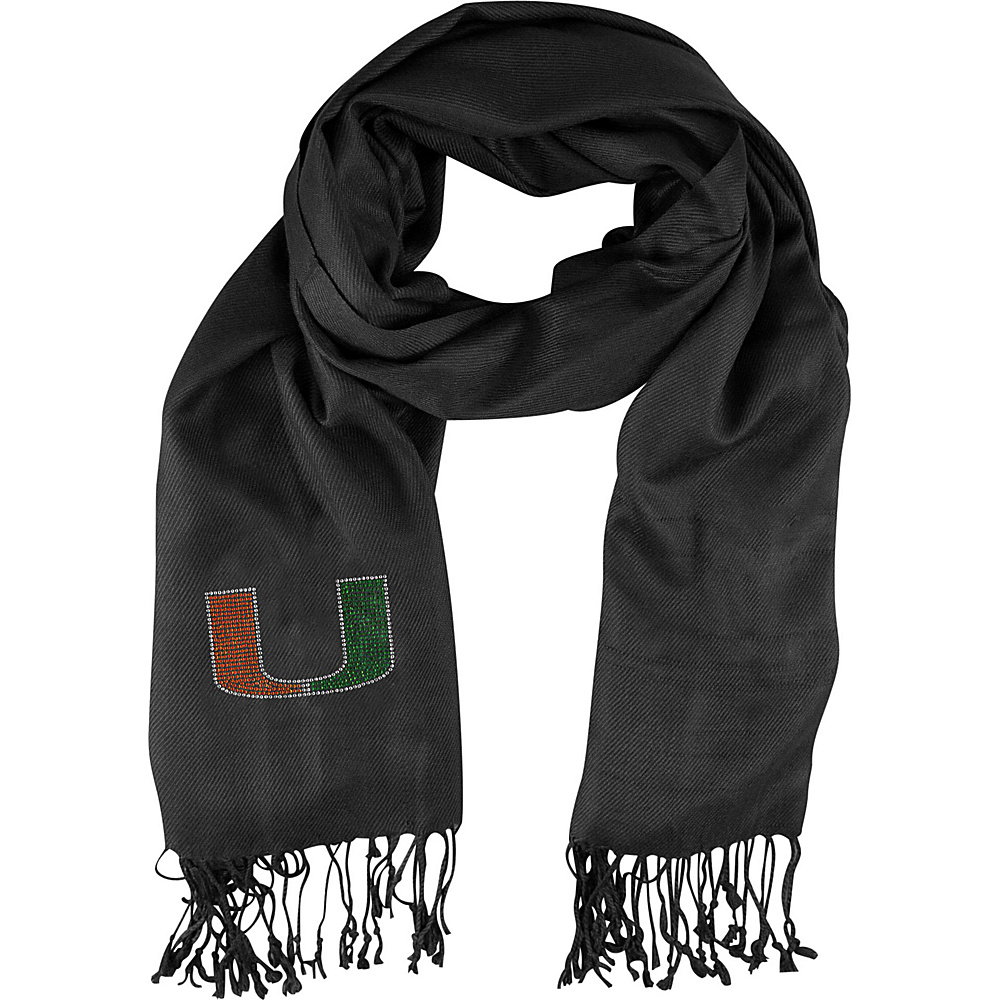 Littlearth Pashi Fan Scarf - ACC Teams Miami, U - Littlearth Hats/Gloves/Scarves - Fashion Accessories, Hats/Gloves/Scarves
