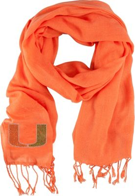 Littlearth Pashi Fan Scarf - ACC Teams Miami, U of - Littlearth Hats/Gloves/Scarves