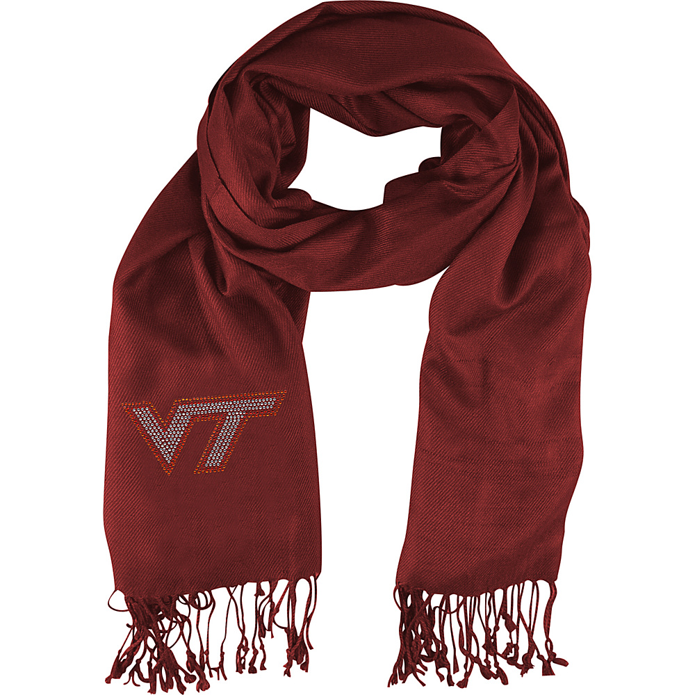 Littlearth Pashi Fan Scarf ACC Teams Virginia Tech Littlearth Hats Gloves Scarves