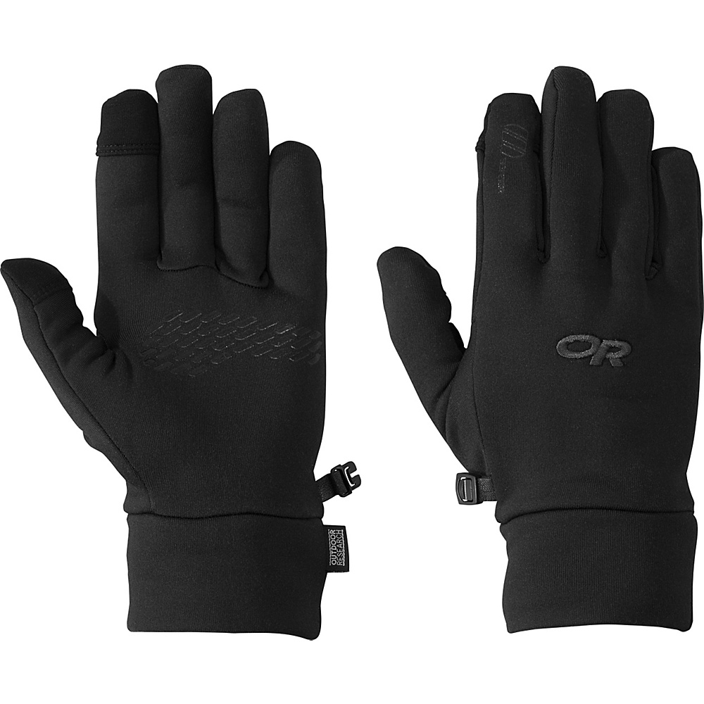 Outdoor Research PL 150 Sensor Gloves Men s Black SM Outdoor Research Hats Gloves Scarves