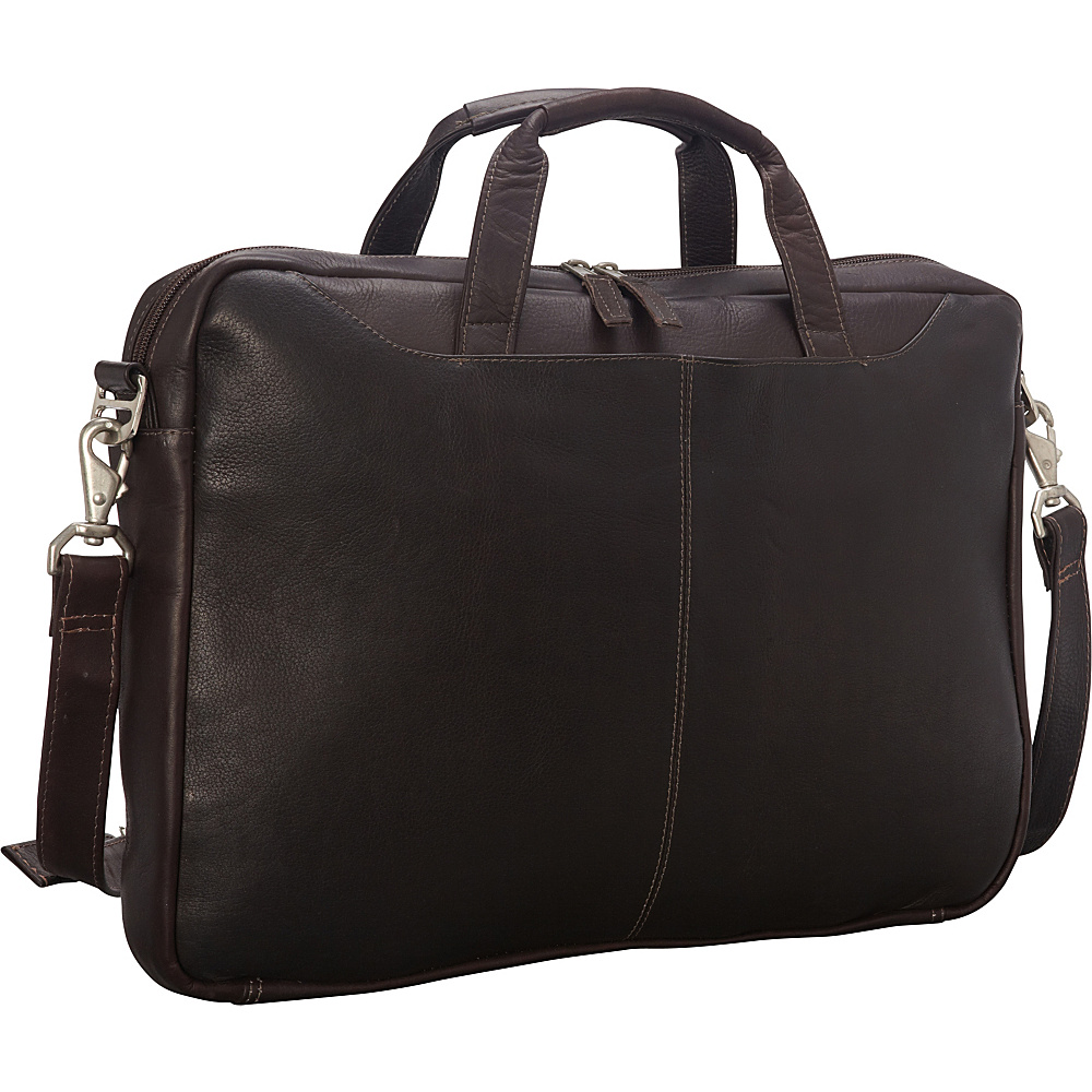 Latico Leathers Aspen Laptop Brief Café - Latico Leathers Non-Wheeled Business Cases - Work Bags & Briefcases, Non-Wheeled Business Cases