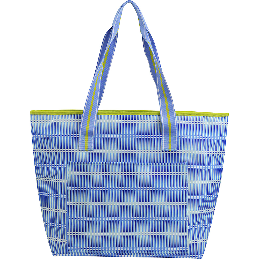 All For Color Cooler Tote Blue Rattan All For Color Travel Coolers